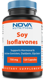 Nova Nutritions Soy Isoflavones 750 mg 120 Capsules