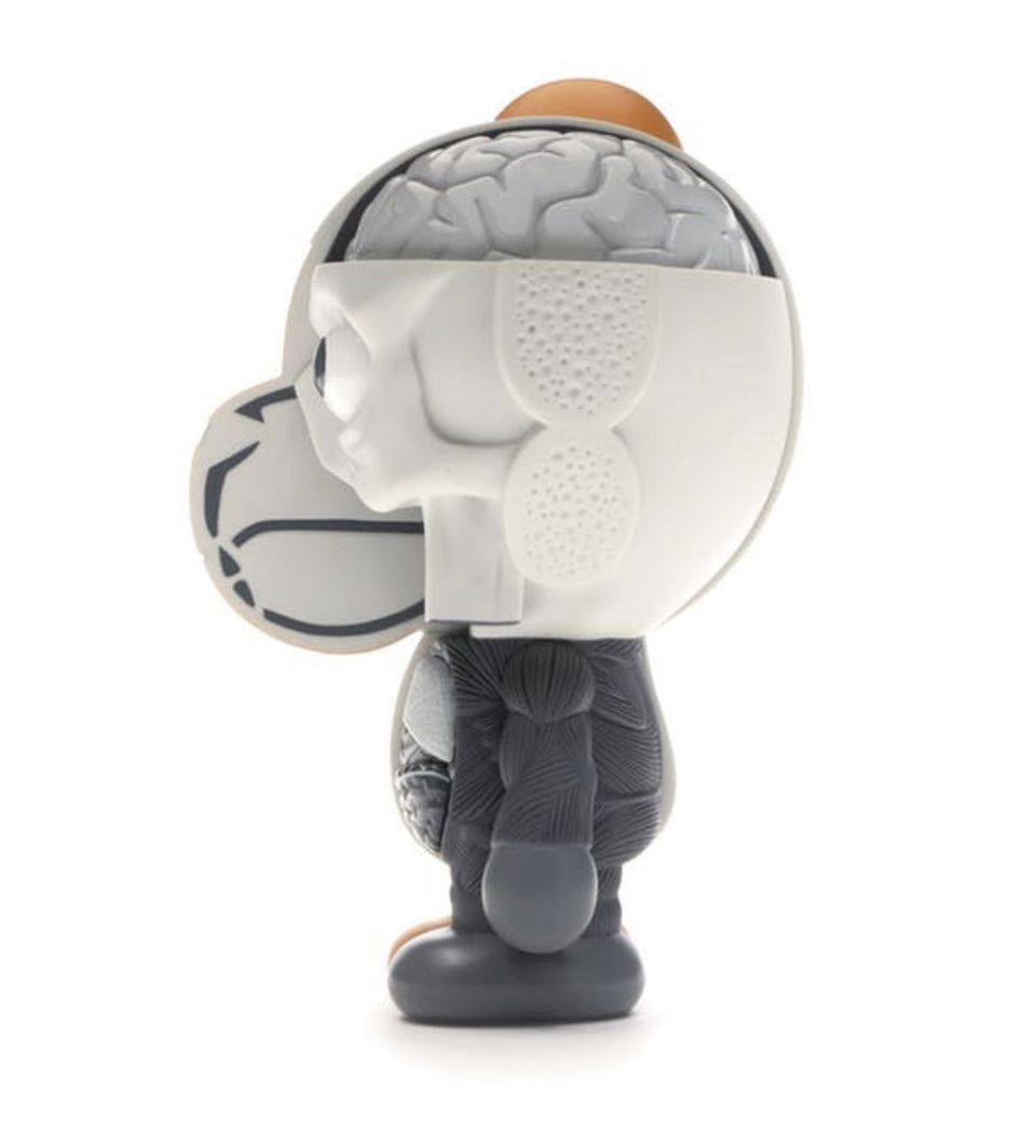 KAWS Bape Dissected Milo Vinyl Figure Grey - archives