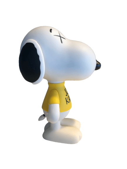 KAWS Peanuts Joe Kaws Snoopy Vinyl Figure White - archives