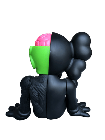 KAWS Resting Place Vinyl Figure Black - archives