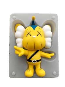 KAWS JPP Vinyl Figure Yellow - archives