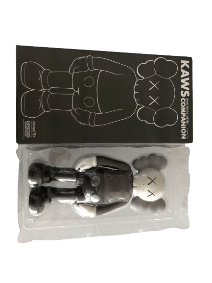 KAWS 5 Years Later Companion Vinyl Figure Brown - archives