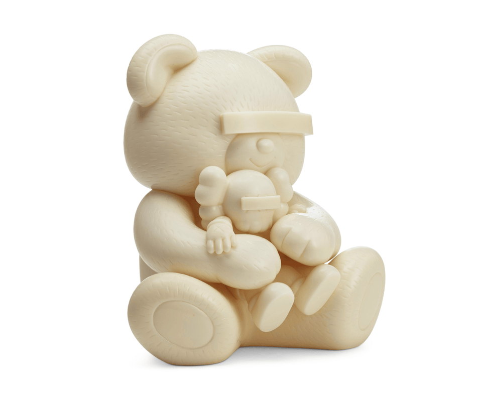 KAWS Jun Takashi Undercover Bear White - archives