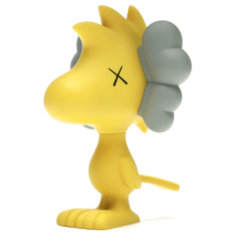 KAWS Woodstock Vinyl Figure Yellow - archives