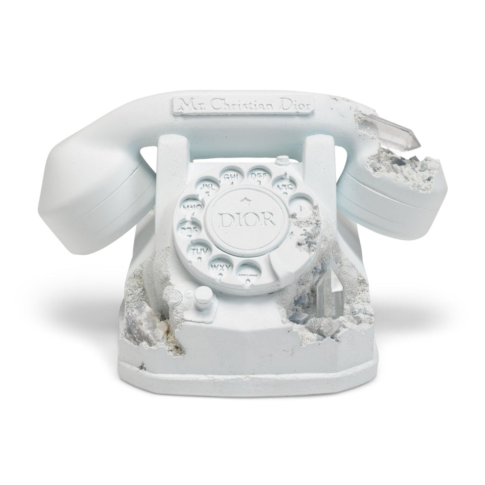 Daniel Arsham Dior Future Relic Phone Sculpture - archives