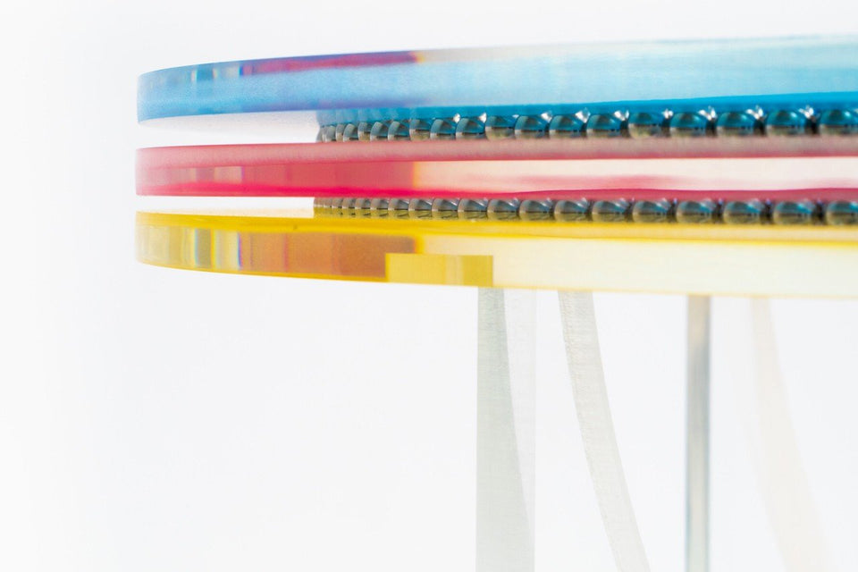 Felipe Pantone Subtractive Variability Circular Table - archives