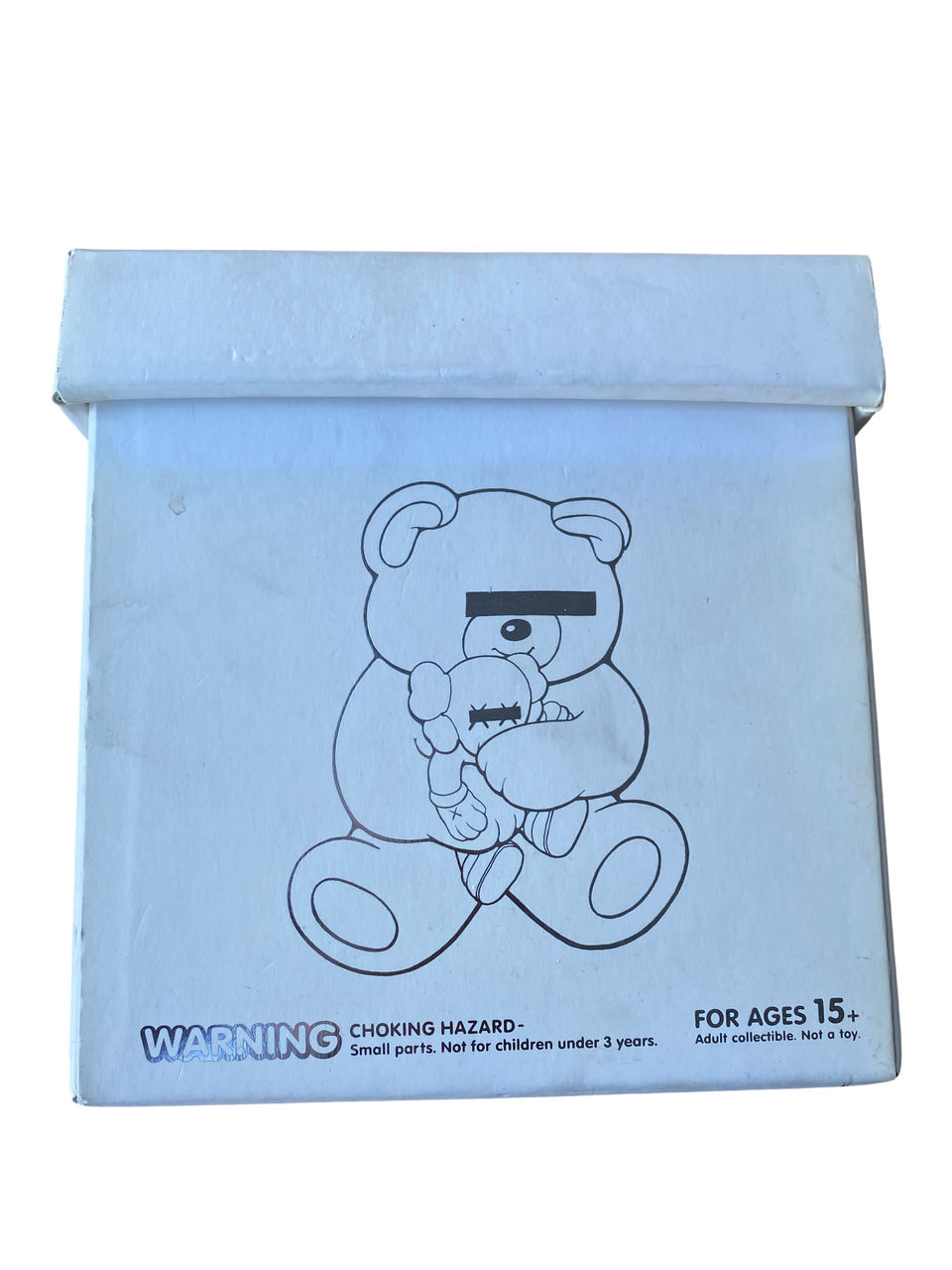 KAWS Jun Takashi Undercover Bear White