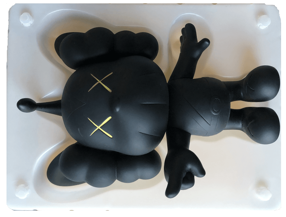 KAWS JPP Vinyl Figure Black - archives