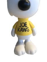 Load image into Gallery viewer, KAWS Peanuts Joe Kaws Snoopy Vinyl Figure White