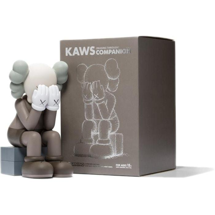 KAWS Passing Through Vinyl Figure Brown - archives