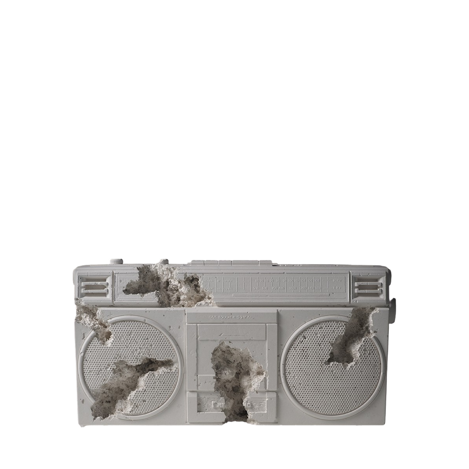 Daniel Arsham Future Relic 08 Radio Sculpture
