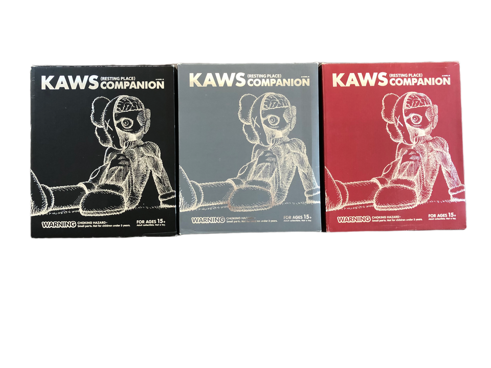 KAWS Resting Place Vinyl Set - archives