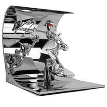 Load image into Gallery viewer, Hajime Sorayama Classic Robot Surf Sculpture Silver - archives