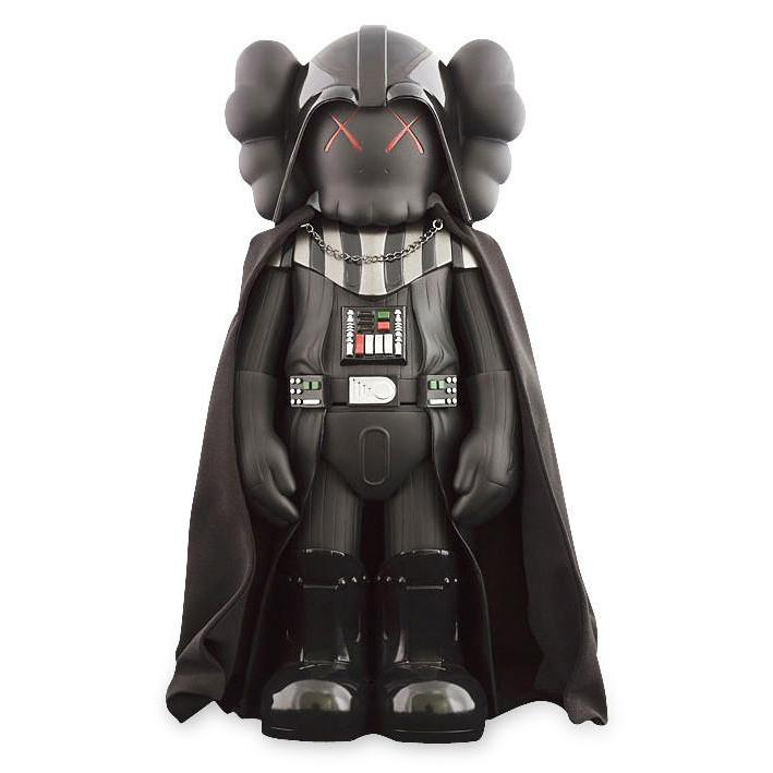 KAWS Star Wars Darth Vader Companion Vinyl Figure Black - archives