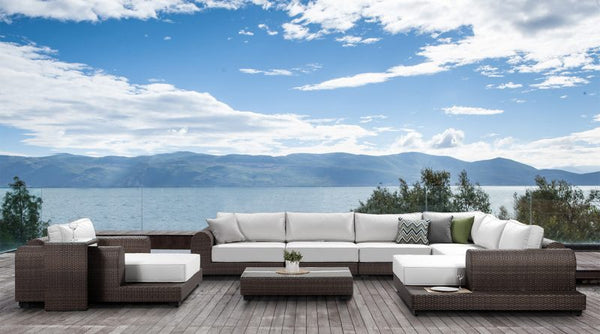 Sunbrella Fabric Sofa Set: Milano