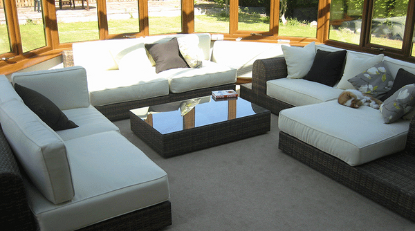 Large Light Brown Rattan Sofa Set – My Review of the Milano