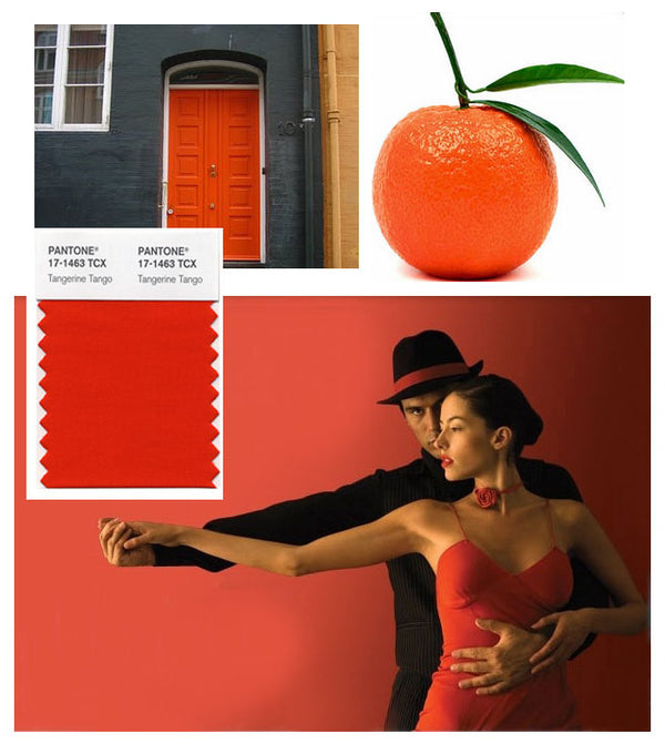 Tangerine Tango as Pantone's colour of the year 2012