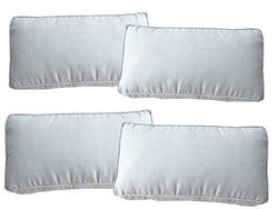 Set of 4 French Grey Sunbrella Fabric Scatter Cushions - Alexander Francis