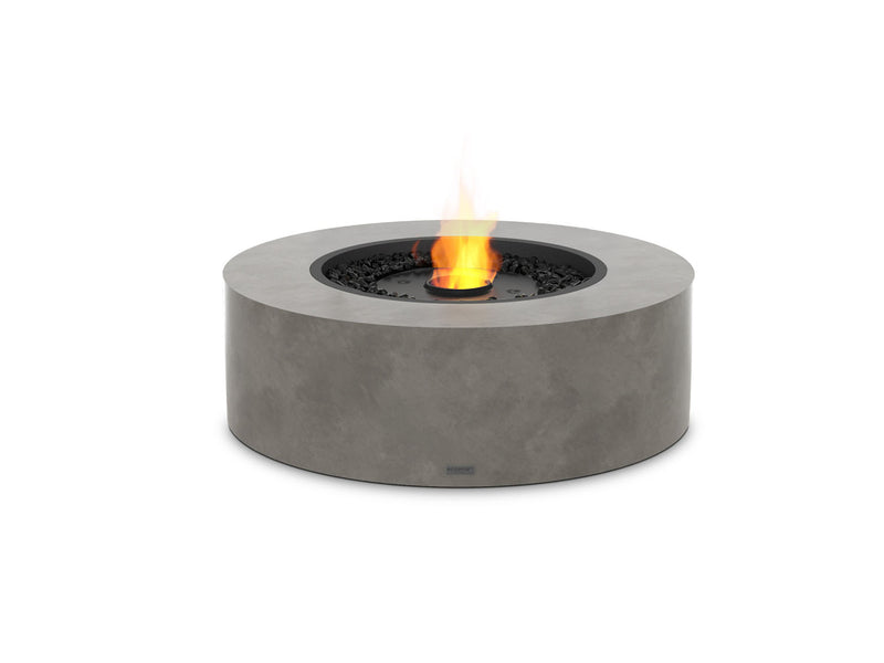 Ark 40 Round Stone Effect Ethanol Fire Pit Table