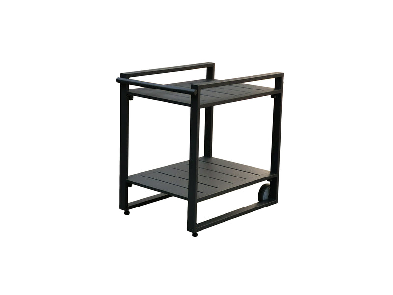 Moderno Aluminium Outdoor Drinks Trolley - Alexander Francis