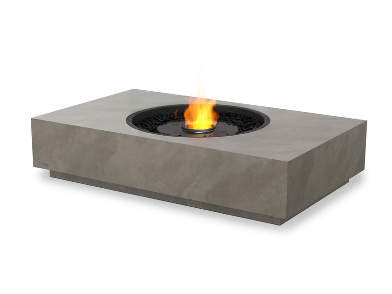 Martini 50 Rectangular Ethanol Fire Pit Table