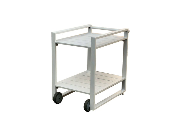 Minimo Aluminium Outdoor Drinks Trolley - Alexander Francis