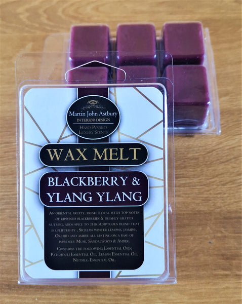 Blackberry & Ylang Ylang Wax Melt