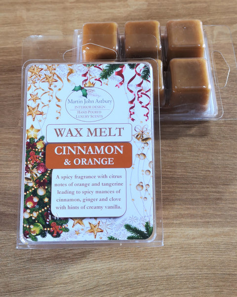 Cinnamon & Orange Wax Melts