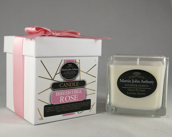 Irresistible Rose Candle