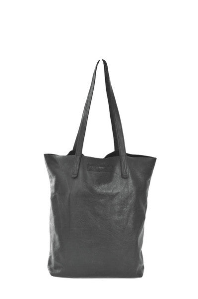 #18 Tote Bag / High Shine Black