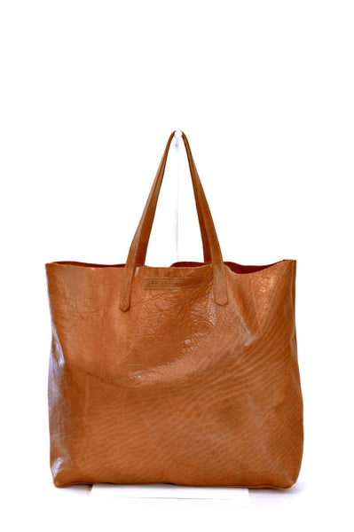 #23 Large Tote / High Shine Acorn