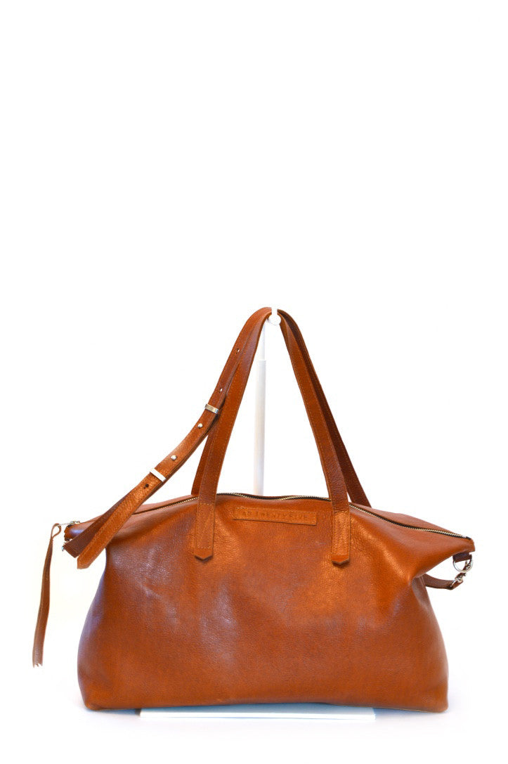 #25 Carryall / High Shine Acorn