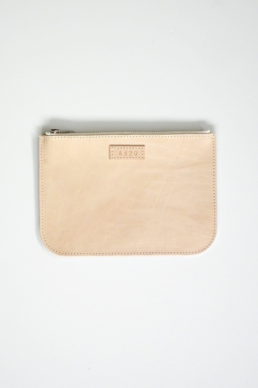 #20 Medium Coupe Pouch / Oily Boot Tan