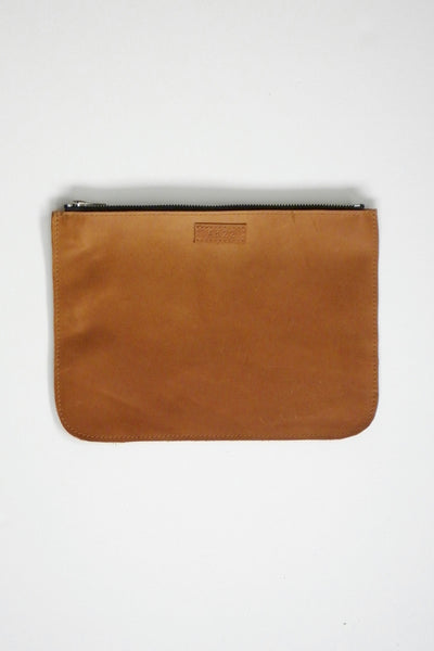 #22 Large Coupe Pouch / Oily Boot Tan
