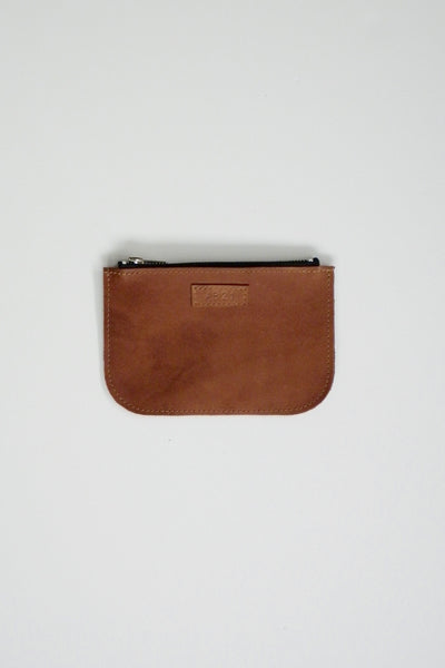 #21 Small Coupe Pouch / Oily Boot Tan