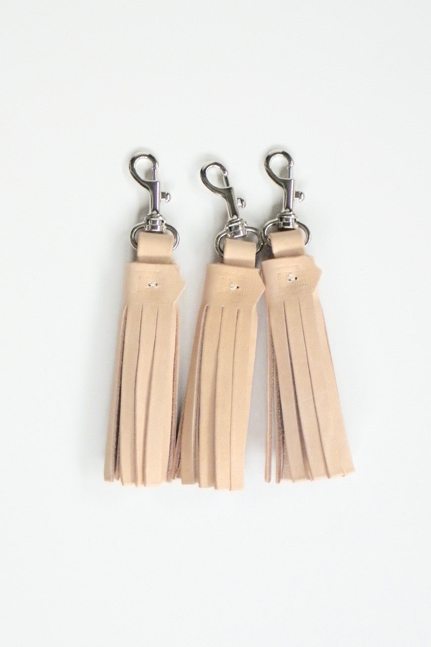Tassel Key Ring / Blush