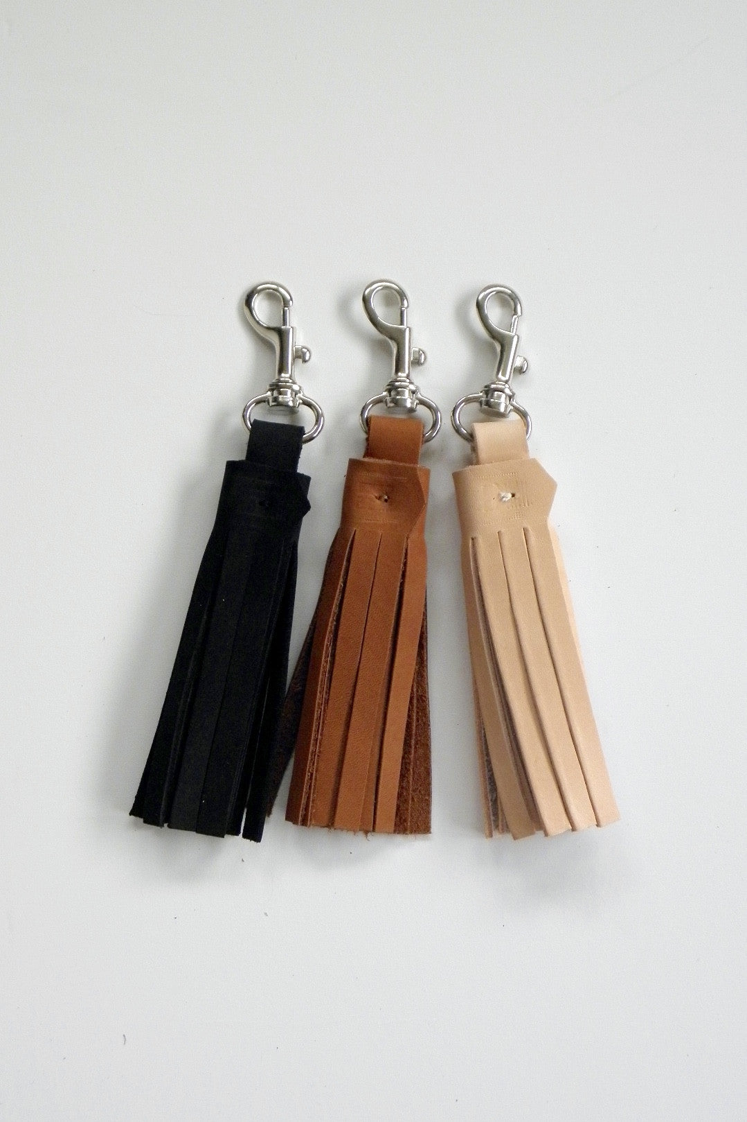 Tassel Key Ring / Motorcycle Black