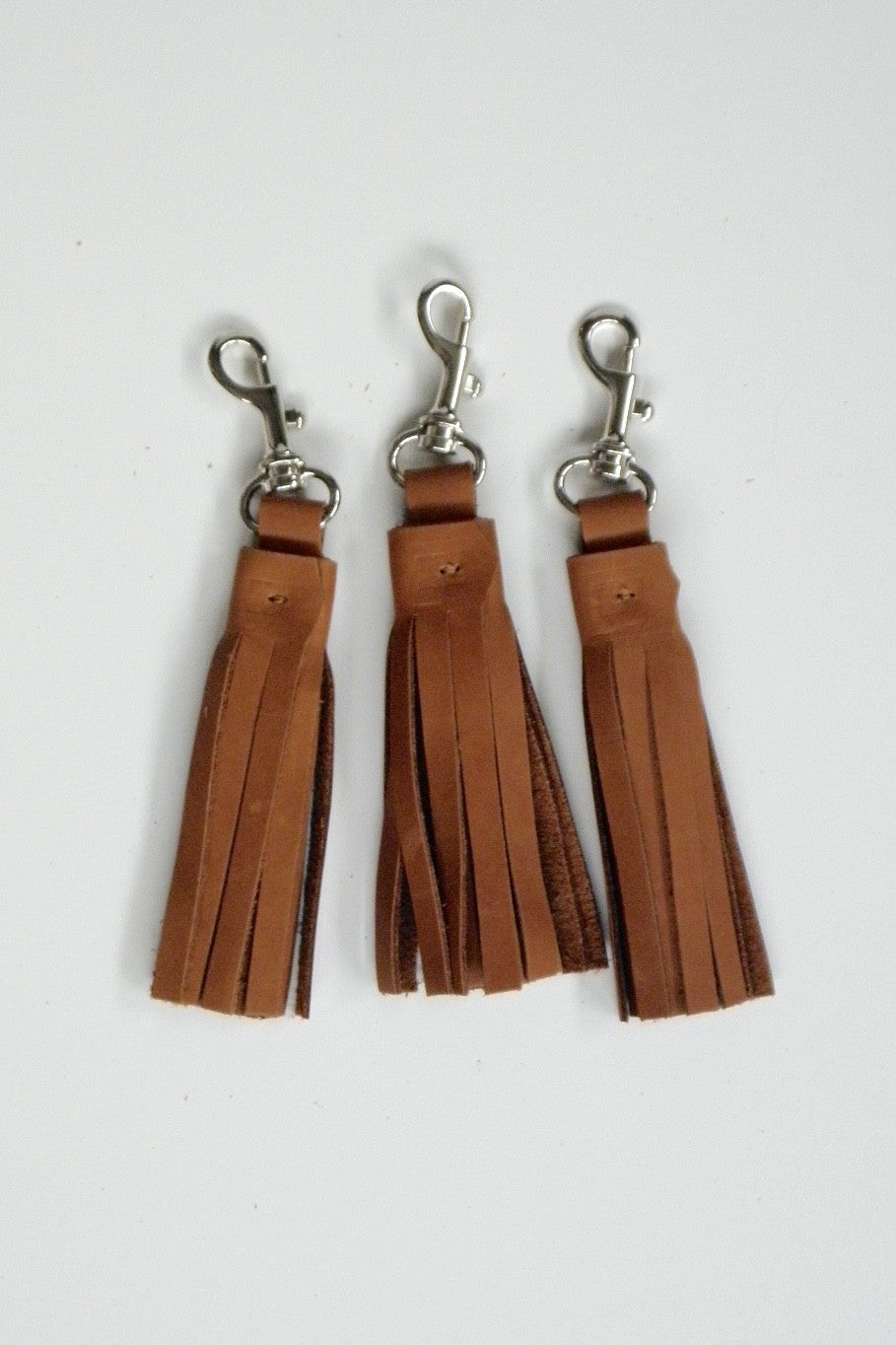 Tassel Key Ring / Oily Boot Tan