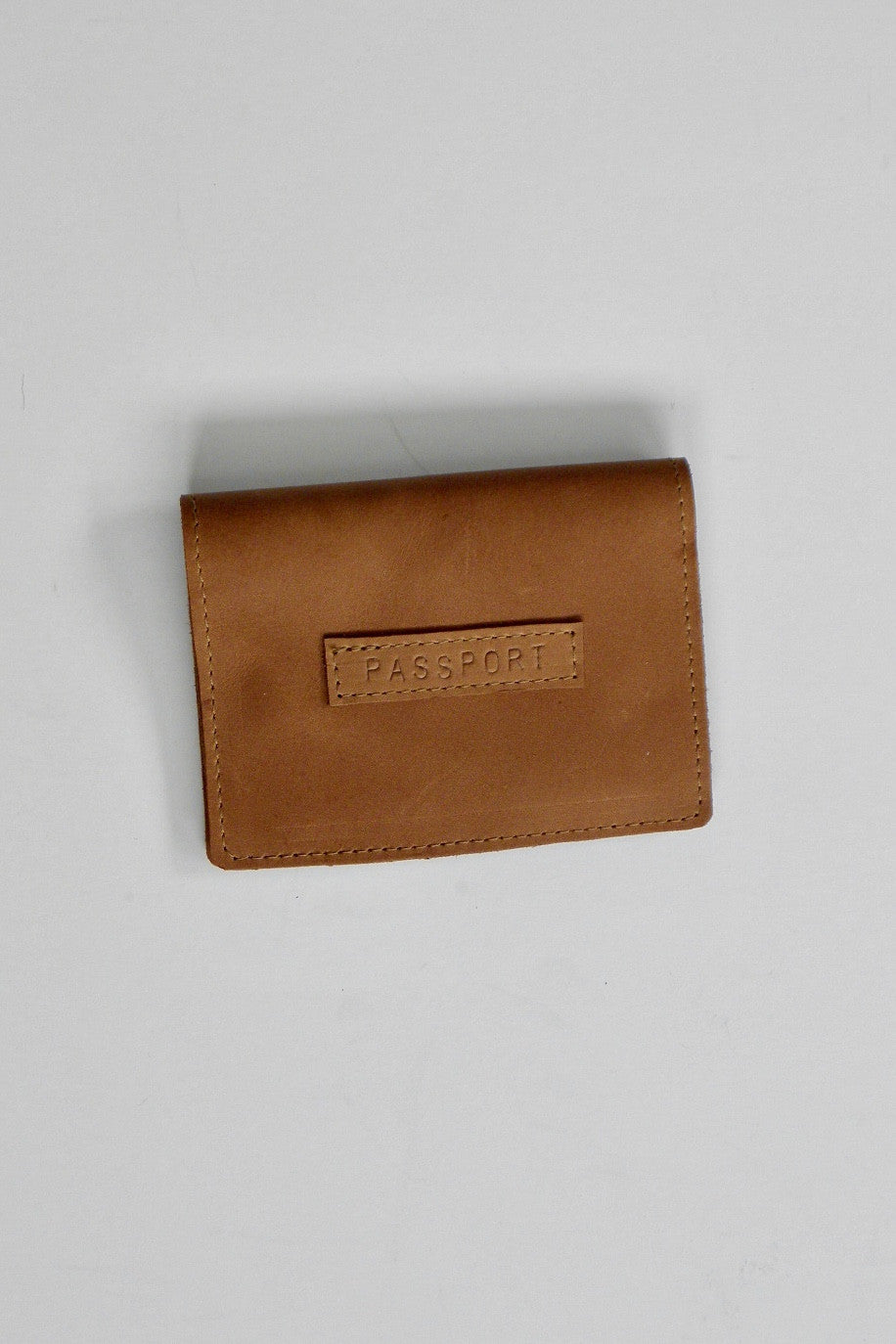 Passport Wallet / Tobacco