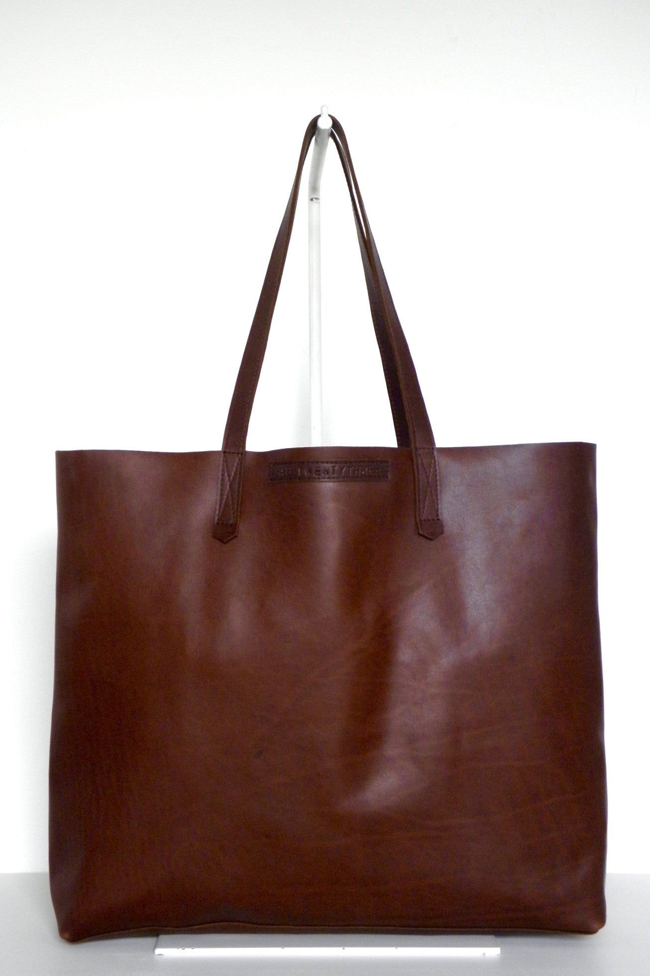 #23 Large Tote / Whiskey