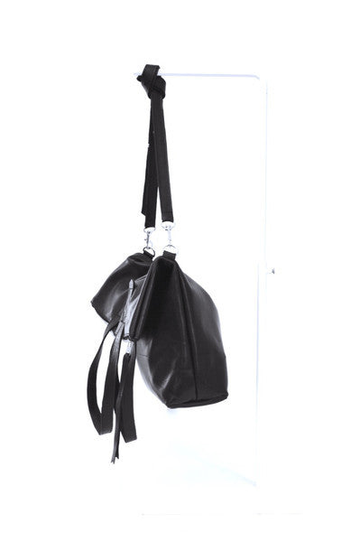 #24 Two Way Tote / High Shine Black
