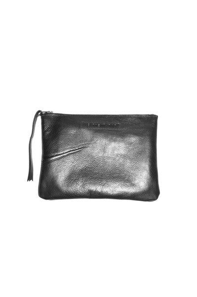 #22 Large Pouch / High Shine Black