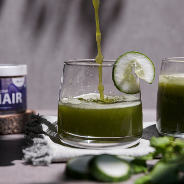 Refreshing and hydrating cucumber cooler