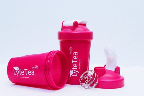 Lyfe Tea Shaker Bottle