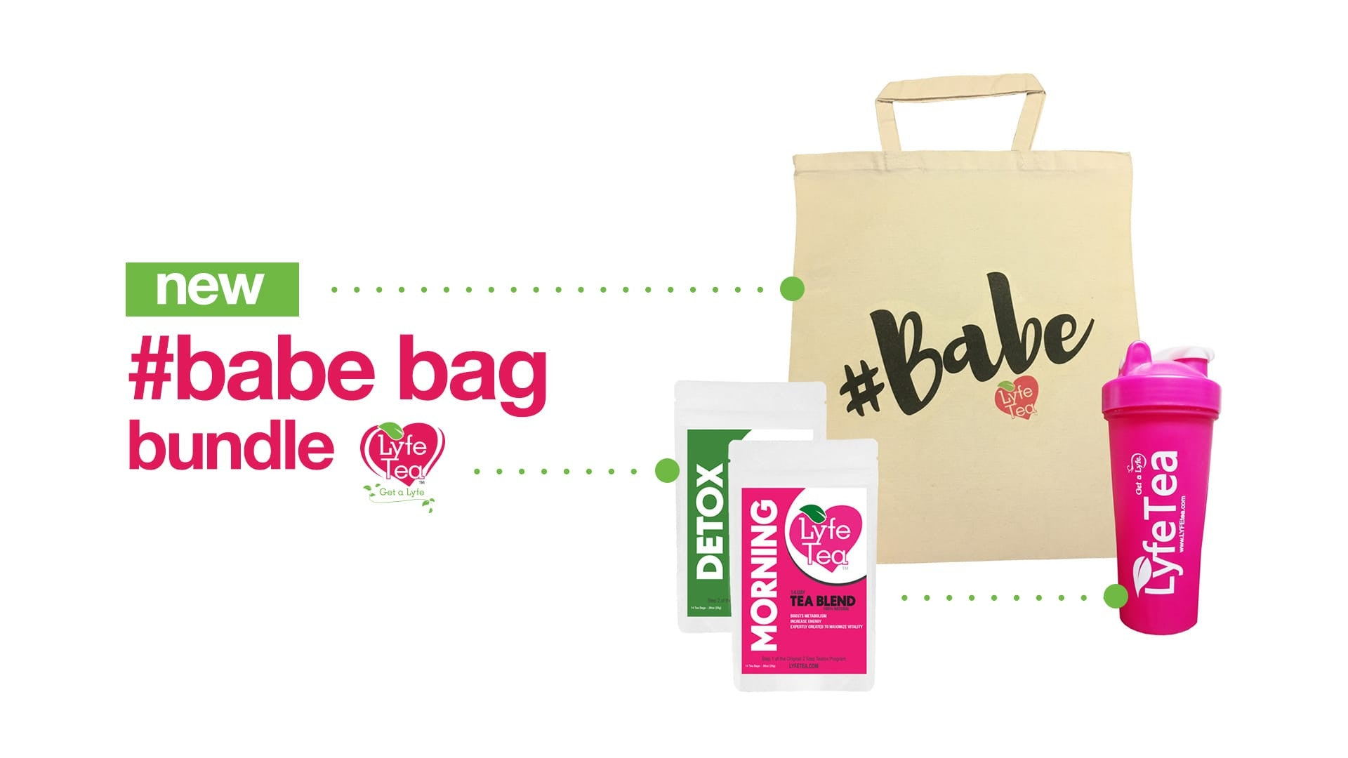 New Lyfe Te Babe Bag Bundle