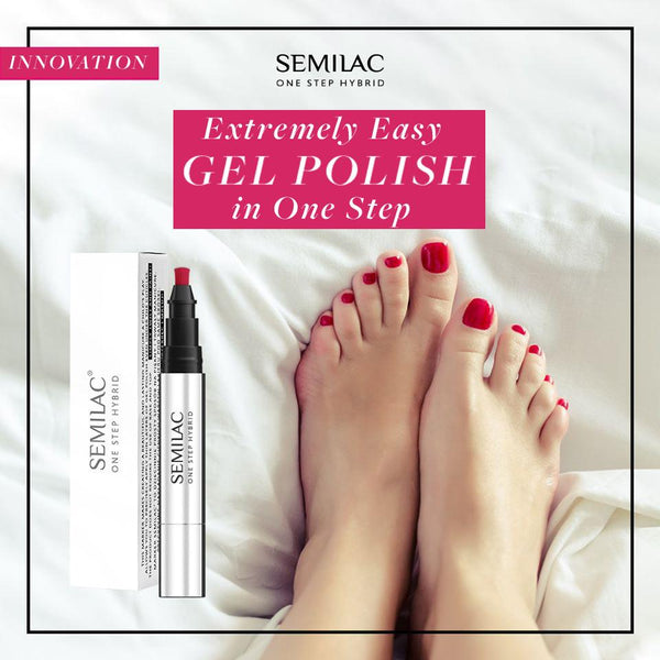 Perfect Pedicure with Semilac One Step Gel Polish Pen | Semilac Shop