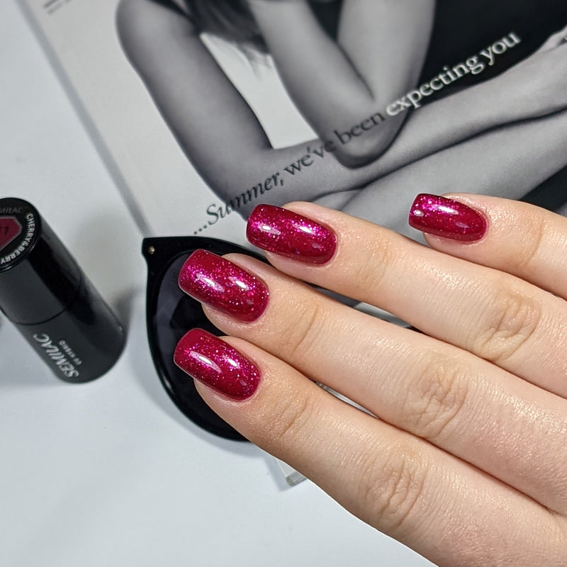 Semilac 111 LTD ED Cherry & Berry UV Gel Polish 7 ml - Semilac Shop