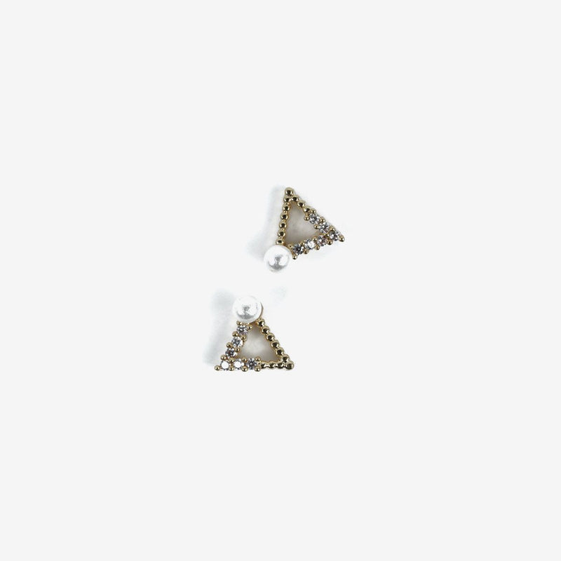 Semilac Decoration Gold Triangle 784 - Semilac Shop