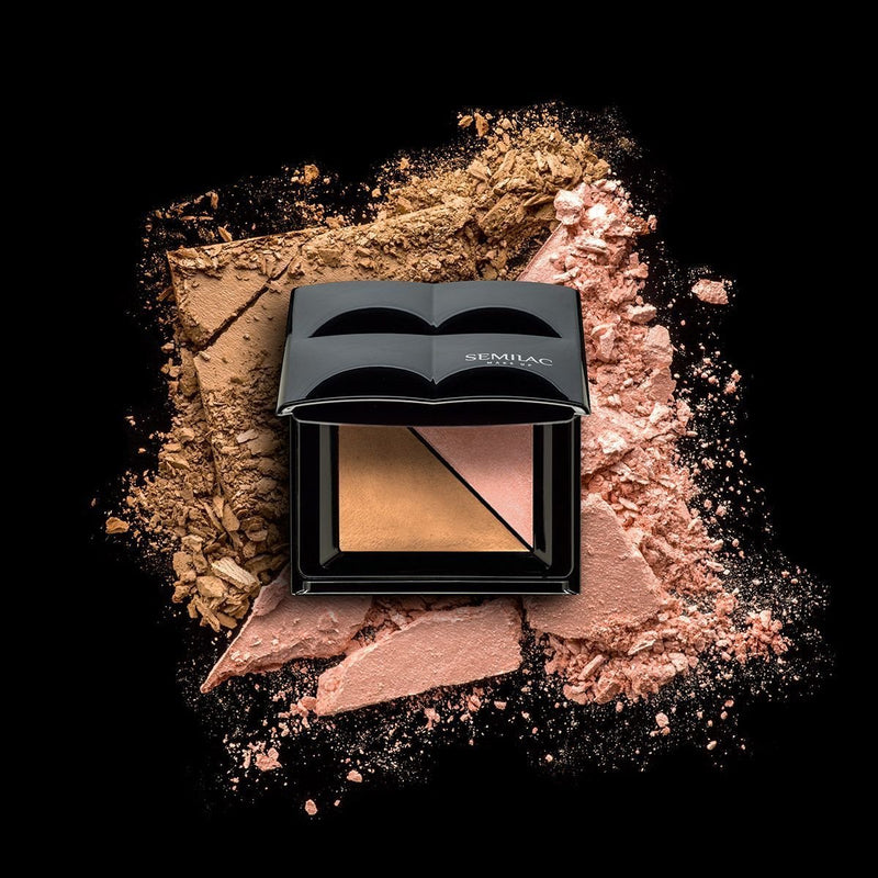 Semilac Bronzer and Highlighter Ice Bronze - Semilac Shop