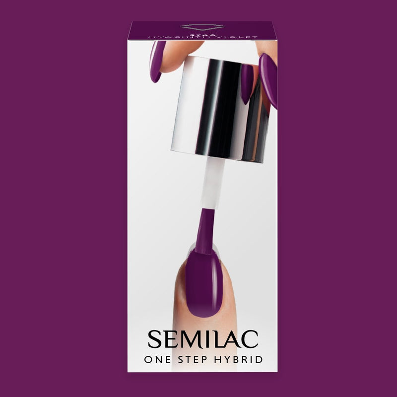 Semilac One Step Gel Polish Bottle 5ml 760 Hyacinth Violet - Semilac Shop